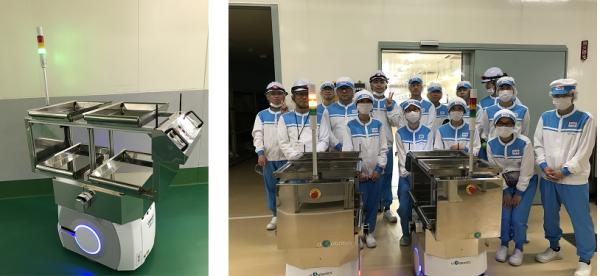 自動搬送モバイルロボット